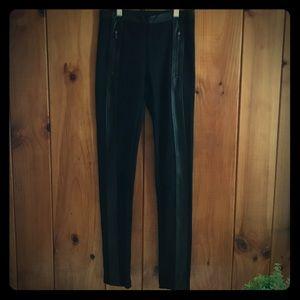 BCBG Max Azria black leggings